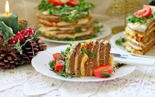 Как приготовить печеночный торт из куриной печени?