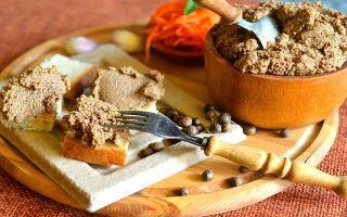Какие используются специи для печеночного паштета?