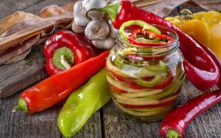 Заготовка перца болгарского на зиму: золотые рецепты