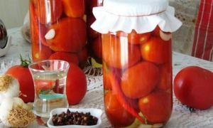 Заготовка на зиму помидоров с гвоздикой