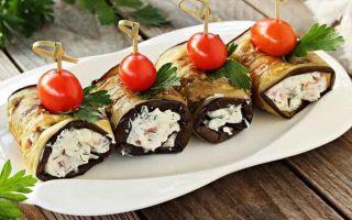 Простые рецепты из баклажанов с чесноком