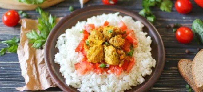 3 рецепта карри с рисом для любителей индийской кухни