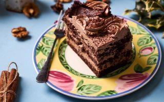Готовим в домашних условиях шоколадное пирожное