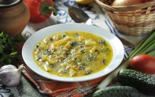Овощные супы без мяса: рецепты приготовления диетического блюда