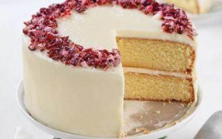 Потрясающий рецепт ванильного торта
