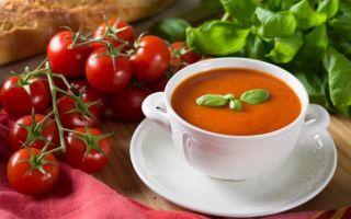 Секреты приготовления томатного супа с базиликом