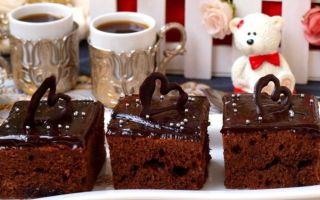 Шоколадное пирожное: рецепт приготовления десерта
