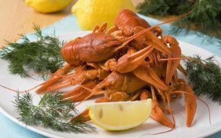 5 простых рецептов приготовления раков вареных с укропом