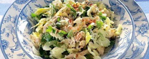 Салат куриный с карри: рецепт от английской королевы
