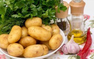 5 рецептов молодой картошки с укропом и чесноком