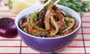 Салаты с баклажанами и кунжутом: простые рецепты