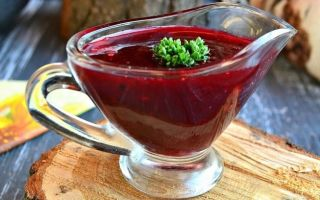 Как приготовить вкусный соус из барбариса
