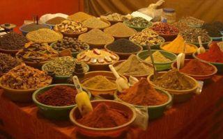 Традиционные абхазские  специи, приправы и пряности