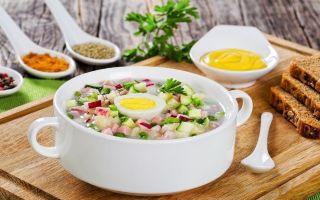 5 замечательных рецептов окрошки с горчицей