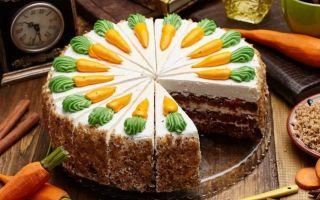 Как приготовить морковный торт: 3 рецепта опытных кондитеров