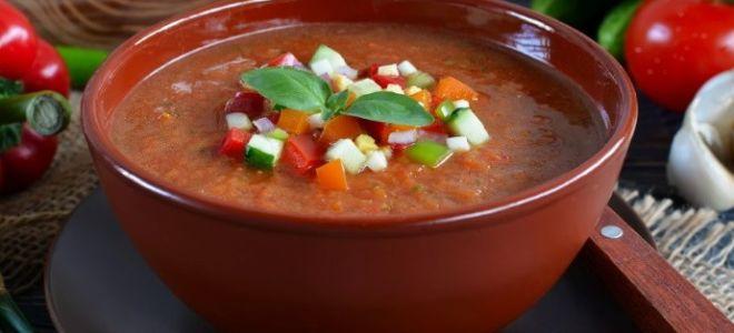 Готовим суп гаспачо: рецепт в домашних условиях