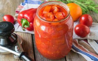 Рецепты лечо из болгарского перца: для любого времени года
