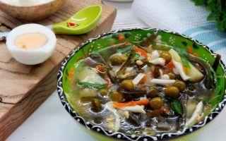 Суп из морской капусты: топ 5 замечательных рецептов