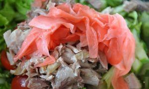 Салаты с маринованным имбирем: рецепты и советы
