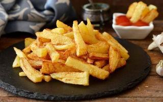 Из каких ингредиентов состоит приправа для картофеля фри?