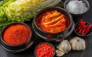 Корейская приправа кимчи для любителей острых блюд