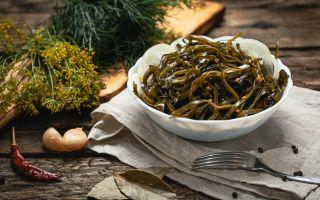 Готовим салат из морской капусты: рецепт закуски для похудения