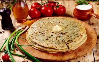 Хычины с сыром и зеленью: 4 простых рецепта