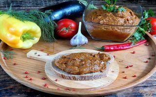 8 простых заготовок икры из баклажанов на зиму: рецепты и приготовление