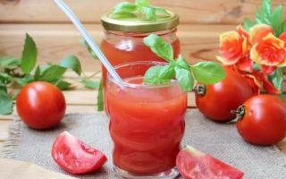 Как сделать томатный сок в домашних условиях?