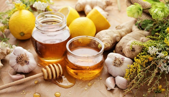 Чеснок лимон имбирь и мед