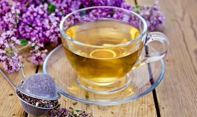 Приготовление чая с душицей