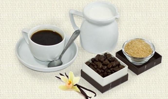 Ваниль кофе молоко