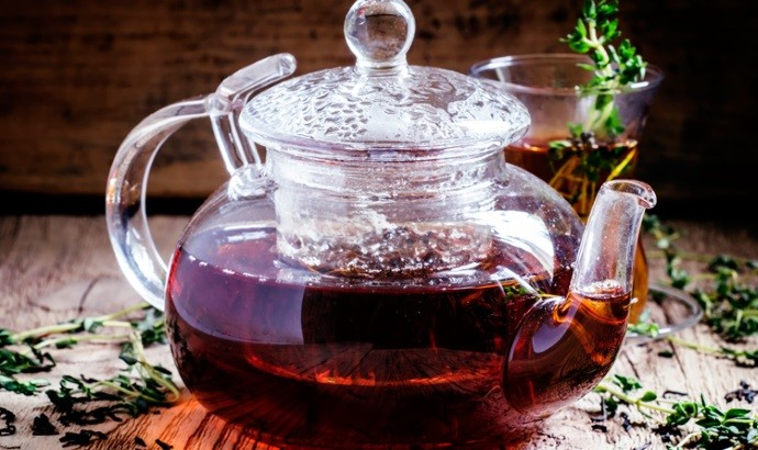 Освежающий чай с чабрецом
