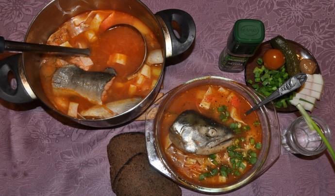 Порция вкусного супа
