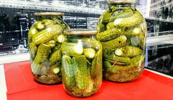 Хрустящие зеленцы