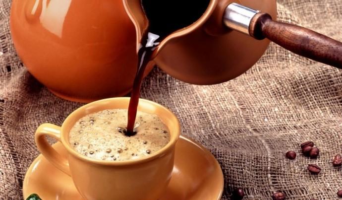Кофе с куркумой