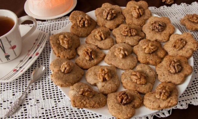Как приготовить печенье с мускатным орехом