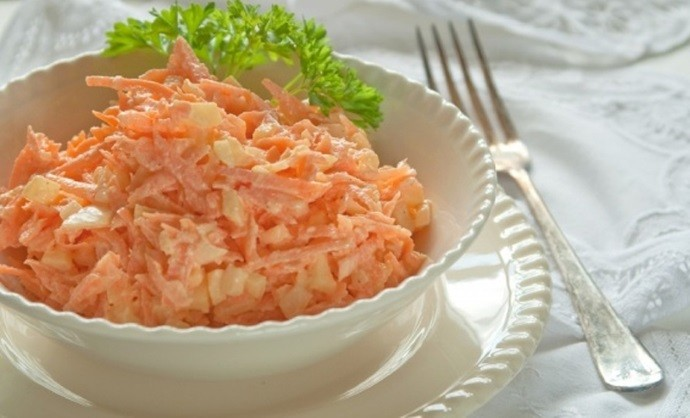 Сыр чеснок морковка
