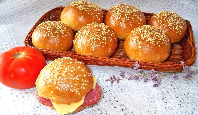 Булочки для бутерброда