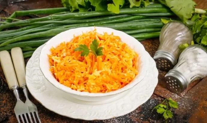 Морковь сыр чеснок