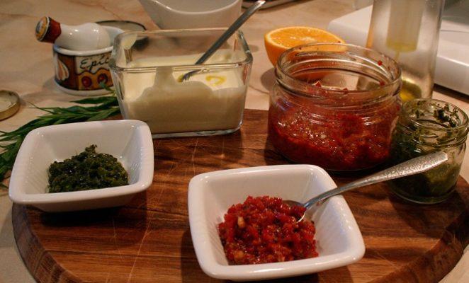 Из каких специй можно приготовить соус харисса
