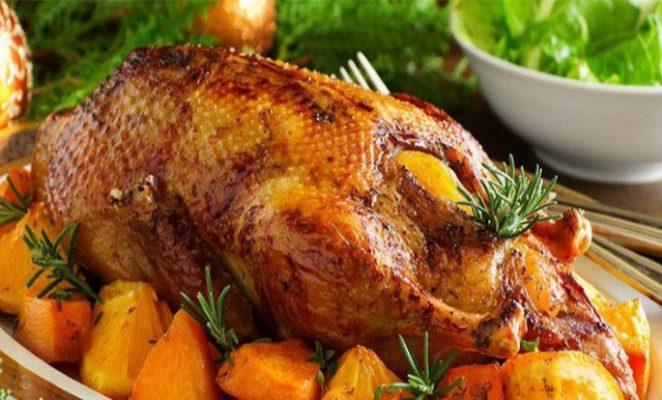 Какие специи и приправы используются для утки в духовке