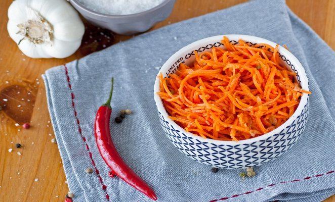 Какой состав приправы для корейской моркови?