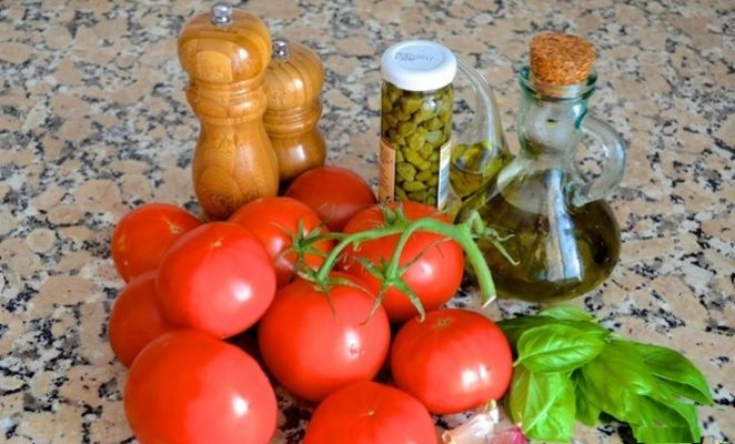 Незабываемый вкус помидоров с базиликом
