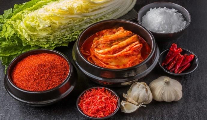 Из каких компонентов состоит корейская приправа?