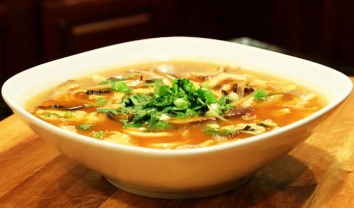 Свежий суп