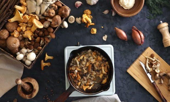 Приправы для грибов жареных, какие подходят?