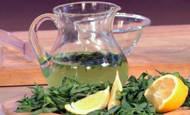 4 простых рецепта полезного чая с тархуном
