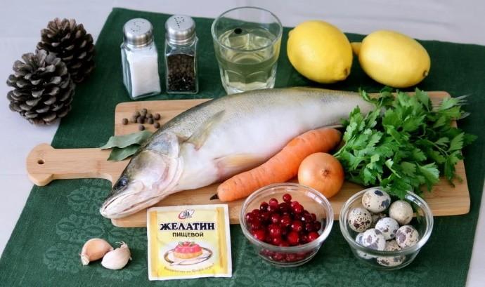 Приправа для заливного из рыбы
