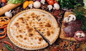 Ароматный осетинский пирог